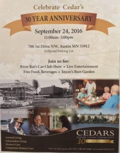 Cedars Celebrates 30 Years in Austin