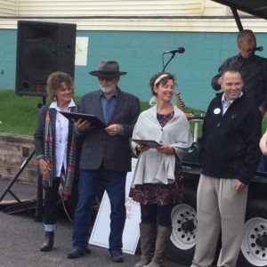 Owners Darryl & Naomi Farr, Lucinda Gardner, Tom Knoepke