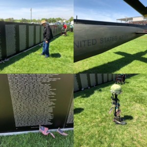 Cedars residents visit the Honor Wall